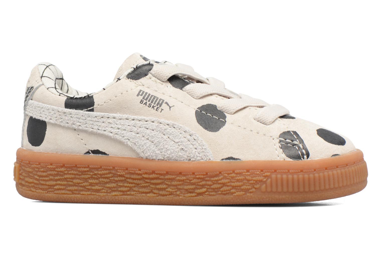 Baskets Puma Cream L3 x Tinycottons Beige vue derrière