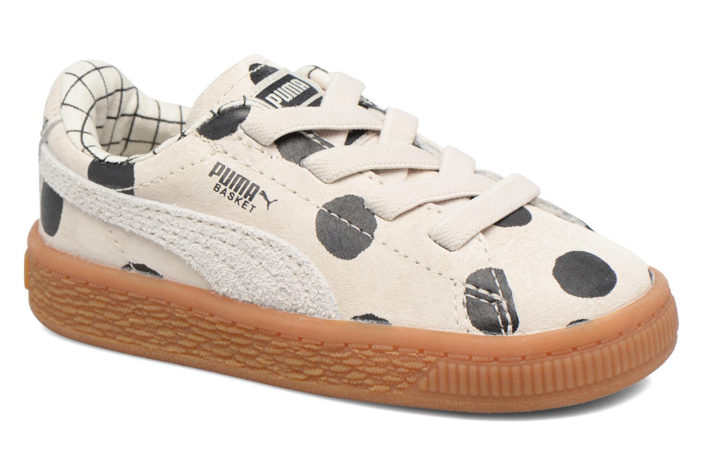 Baskets Puma Cream L3 x Tinycottons Beige vue détail/paire