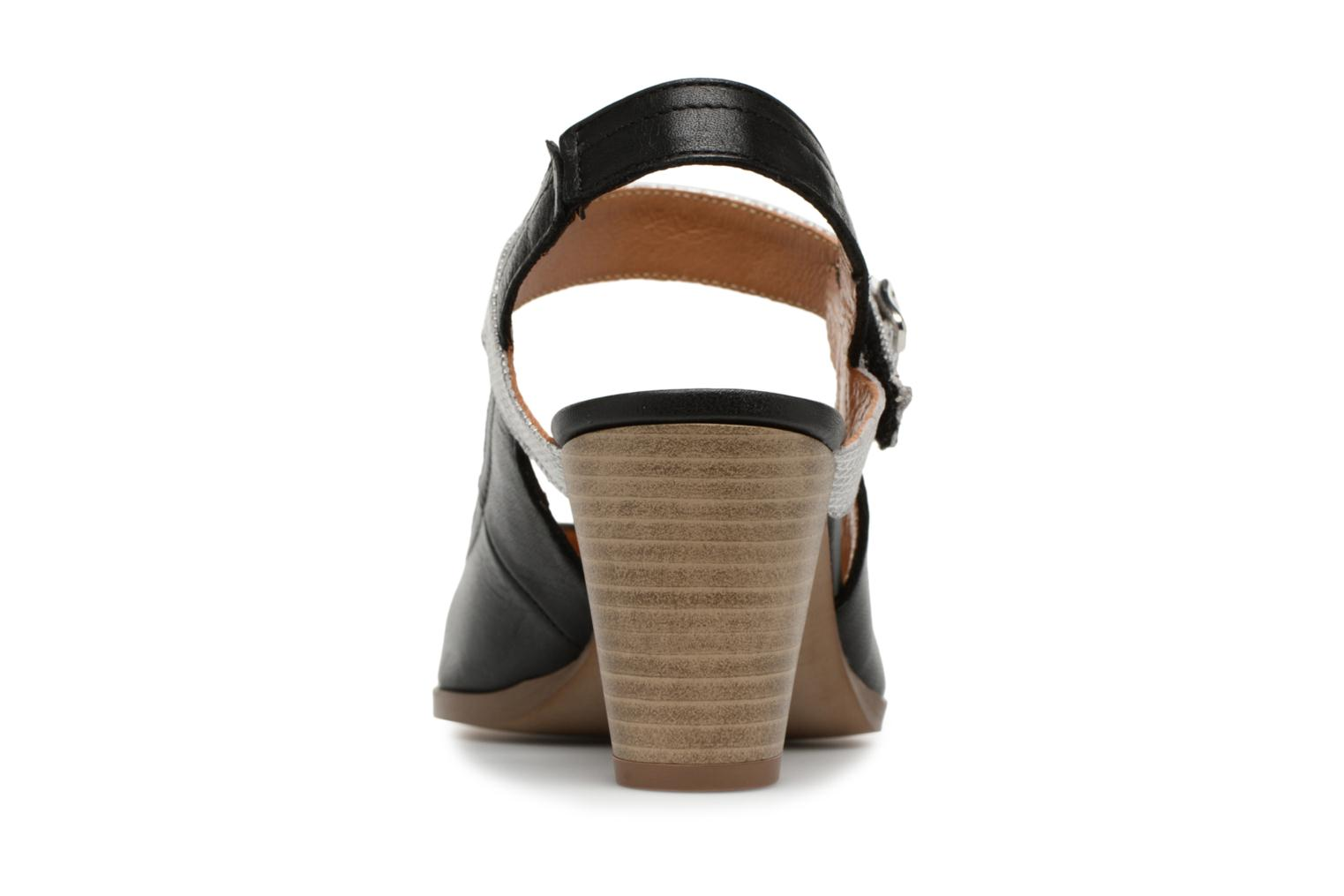 High heels Karston Kzoto Black view from the right