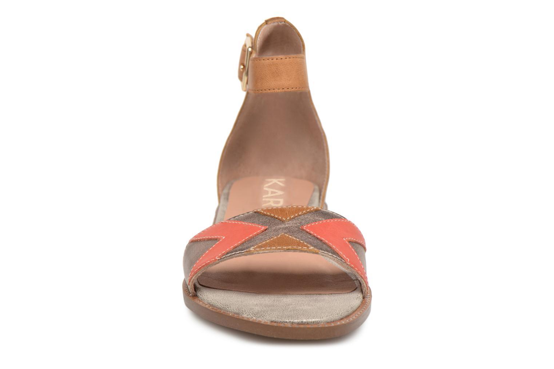 Sandals Karston Sofox Brown model view
