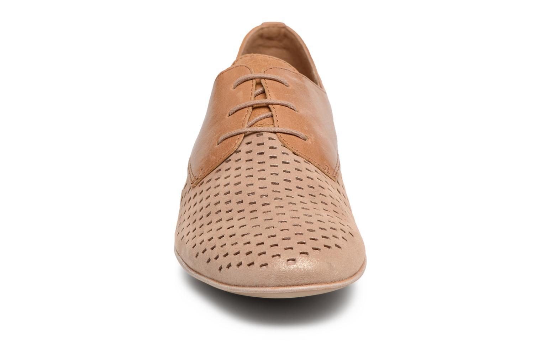 Chaussures à lacets Karston Joie Marron vue portées chaussures