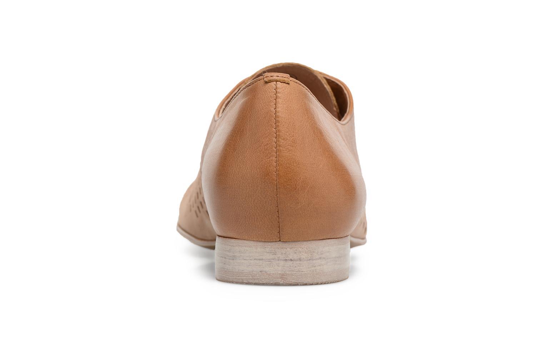 Chaussures à lacets Karston Joie Marron vue droite
