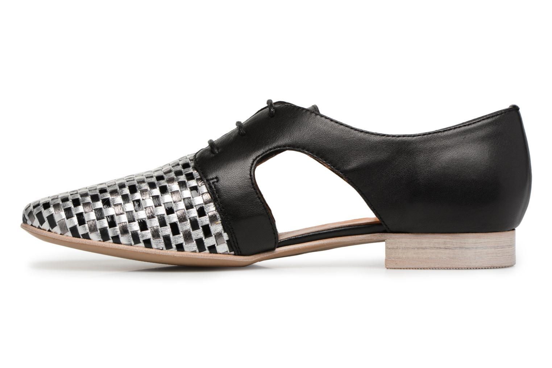 Chaussures à lacets Karston Jocane Noir vue face