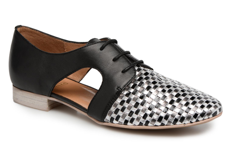 Chaussures à lacets Karston Jocane Noir vue détail/paire