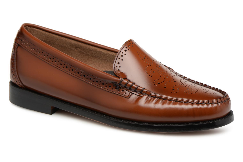 Grandes descuentos últimos zapatos G.H. Bass WEEJUN WMN Lillian Brogue (Marrón) - Mocasines Descuento