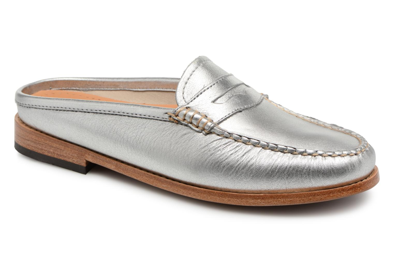 Zapatos promocionales G.H. Bass WEEJUN WMN Penny Slide Wheel (Plateado) - Mocasines   Los últimos zapatos de descuento para hombres y mujeres