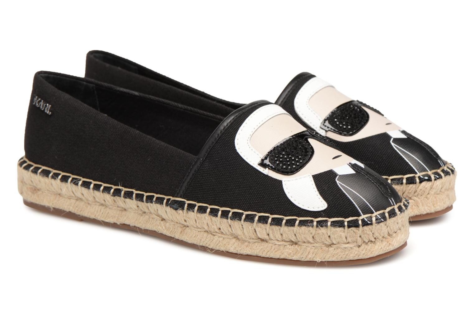 KAMINI Karl Ikonic Slip On Black