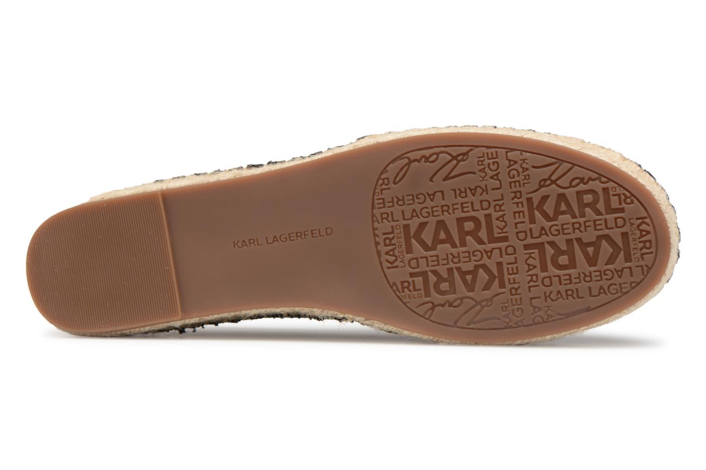 Espadrilles Karl Lagerfeld KAMINI Karl Ikonic Slip On Black view from above