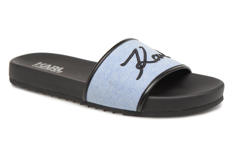 Zapatos promocionales Karl Lagerfeld KONDO Signature Drill (Azul) - Zuecos   Los zapatos más populares para hombres y mujeres