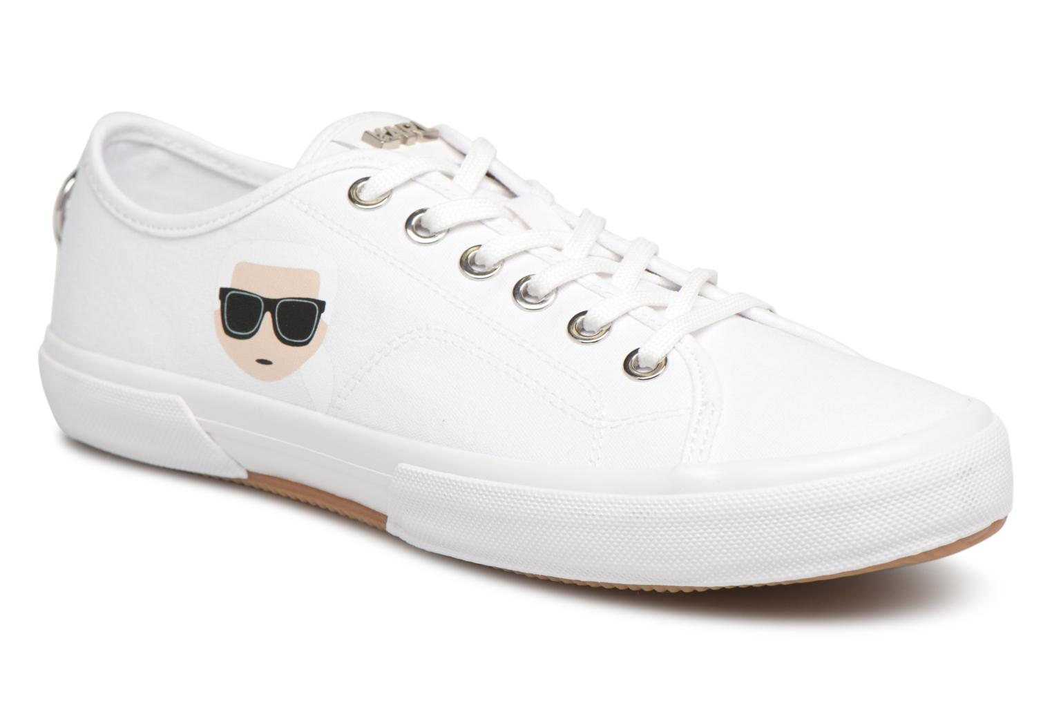 KARL LAGERFELD KAMPUS LACE SHOE - Trainers - white 4SQoi