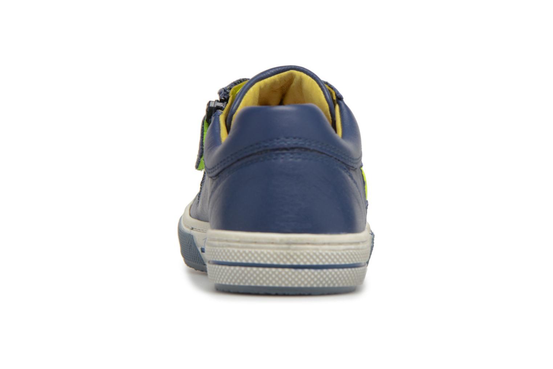 Navy + Yellow fluo Stones and Bones Clean (Bleu)