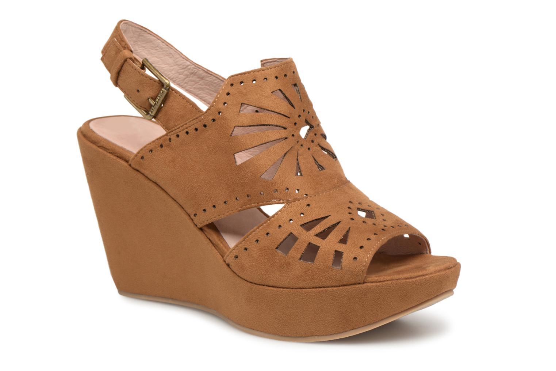Zapatos promocionales Chattawak LISERON (Marrón) - Sandalias   Zapatos casuales salvajes