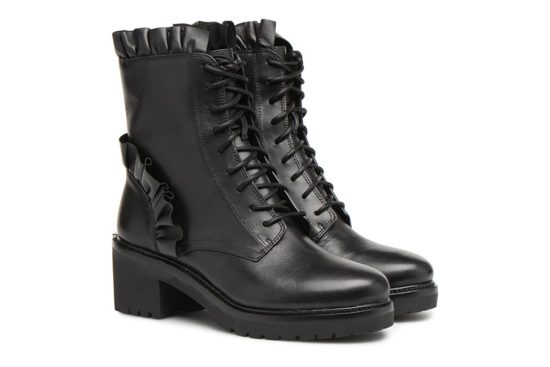 Ankle boots Michael Michael Kors Bella Bootie Black 3/4 view
