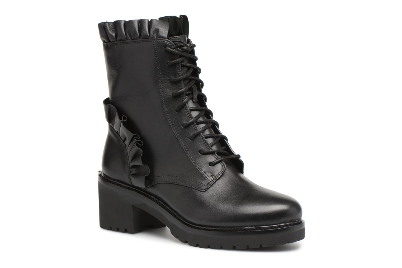 Ankle boots Michael Michael Kors Bella Bootie Black detailed view/ Pair view