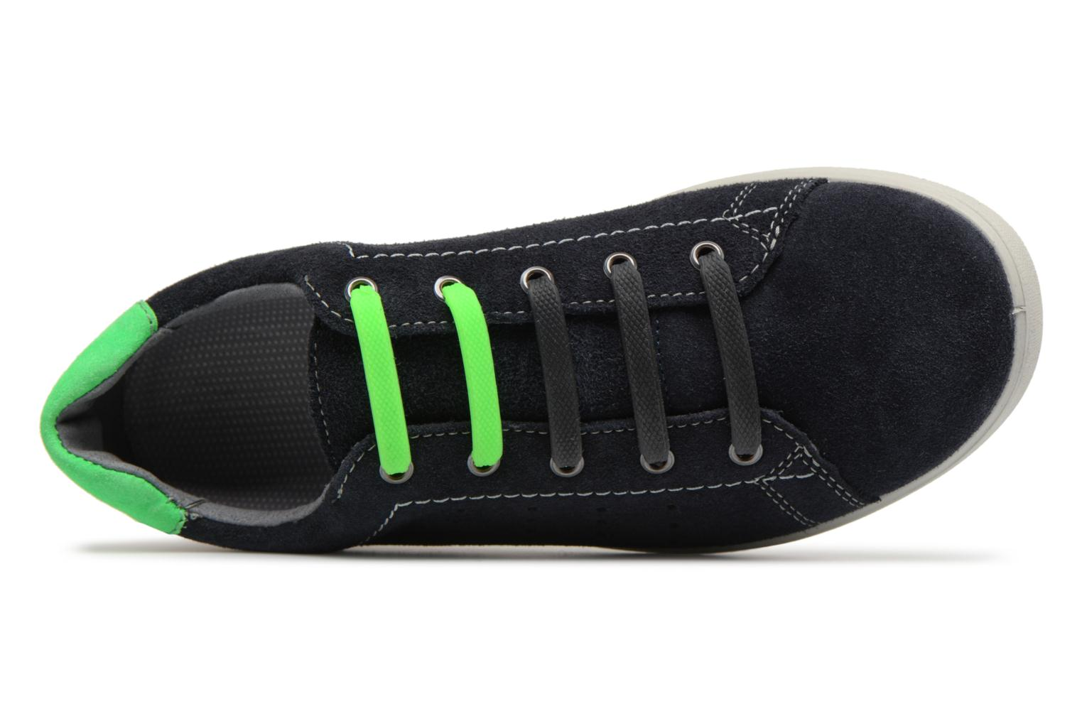 Trainers Ricosta Rey Black view from the left