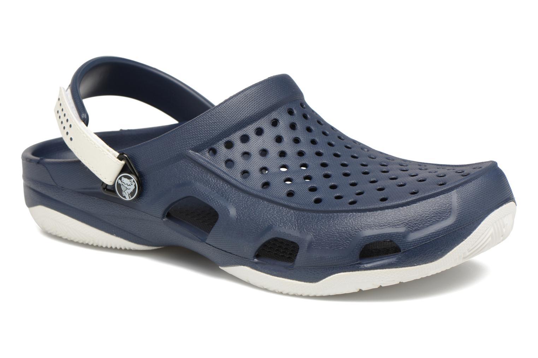 Crocs Swiftwater Deck Clog M (Noir) - Sandales et nu-pieds chez Sarenza (312481)