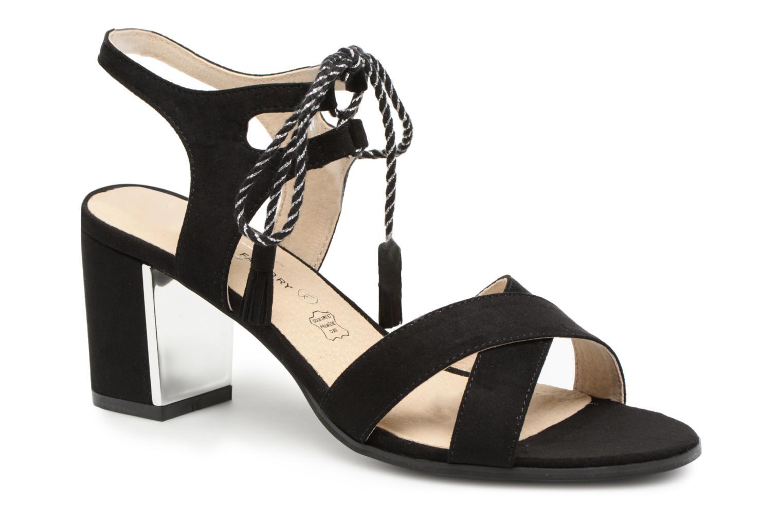 Grandes descuentos últimos zapatos Divine Factory Armelle (Negro) - Sandalias Descuento