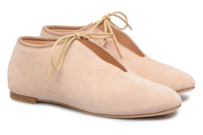 Chaussures à lacets Opéra national de Paris Elysee 1404 Beige vue 3/4
