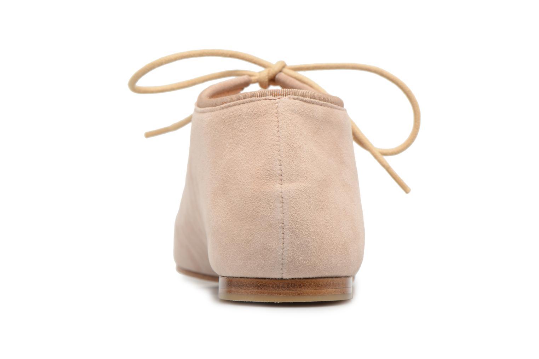 Chaussures à lacets Opéra national de Paris Elysee 1404 Beige vue droite