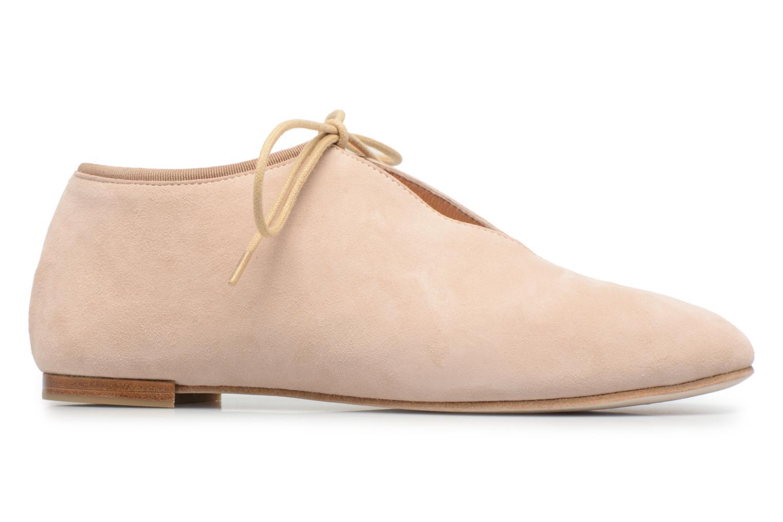 Chaussures à lacets Opéra national de Paris Elysee 1404 Beige vue derrière