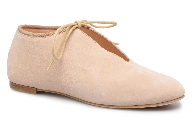 Chaussures à lacets Opéra national de Paris Elysee 1404 Beige vue détail/paire