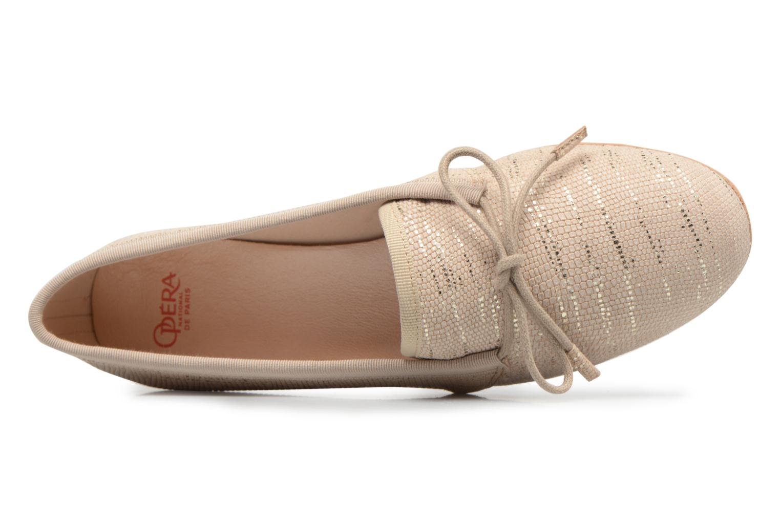 Veterschoenen Opéra national de Paris Elika 1438 Beige links