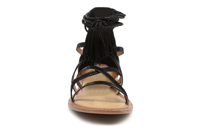 Sandales et nu-pieds I Love Shoes Kemila Leather Noir vue portées chaussures