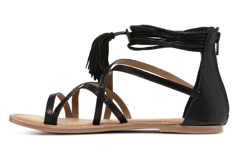 Sandales et nu-pieds I Love Shoes Kemila Leather Noir vue face