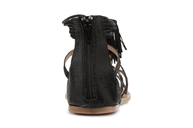 Sandales et nu-pieds I Love Shoes Kemila Leather Noir vue droite
