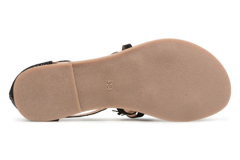 Sandales et nu-pieds I Love Shoes Kemila Leather Noir vue haut