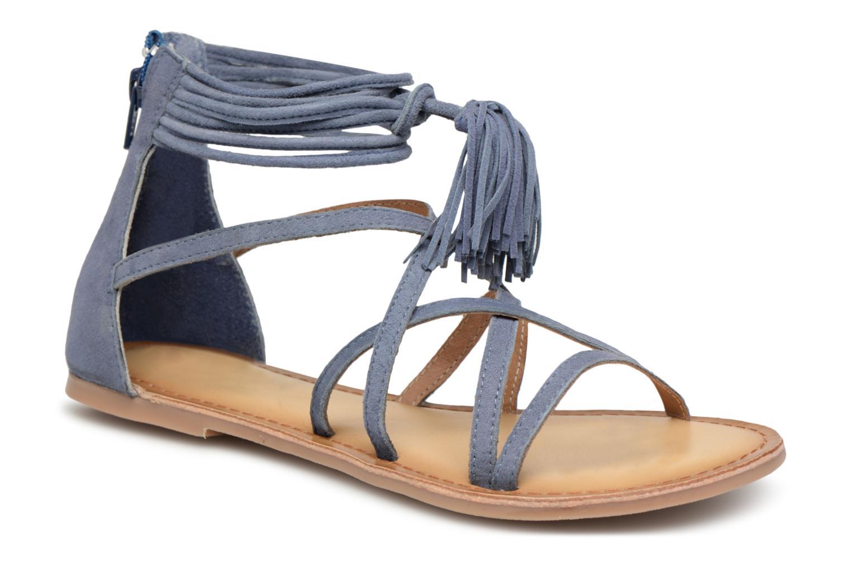 I Love Shoes - Damen - Kemila Leather - Sandalen - blau l3vK9gKDN