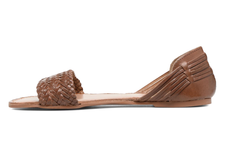 Sandalen I Love Shoes Kerina Leather braun ansicht von vorne