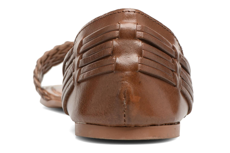 Sandales et nu-pieds I Love Shoes Kerina Leather Marron vue droite