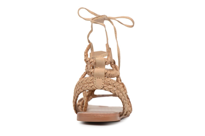 Sandales et nu-pieds I Love Shoes Supergli Leather Marron vue droite