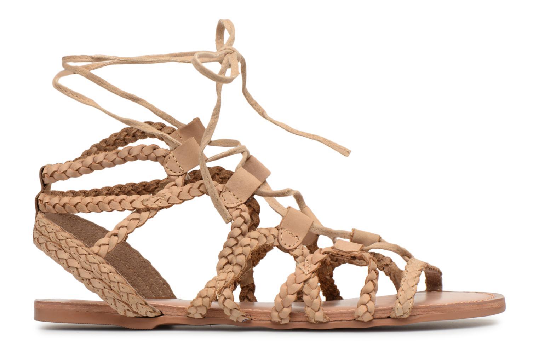 Sandales et nu-pieds I Love Shoes Supergli Leather Marron vue derrière