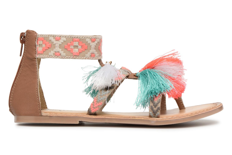 Sandales et nu-pieds I Love Shoes Kebam Leather Kids Multicolore vue derrière