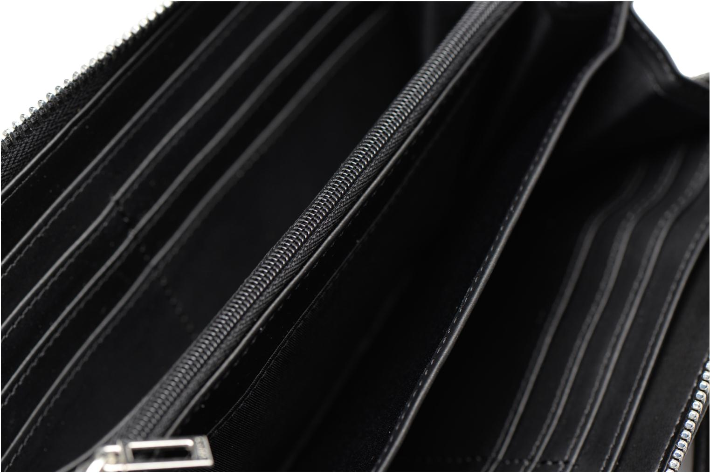 Petite Maroquinerie Guess Britta SLG Large Zip Around Noir vue derrière
