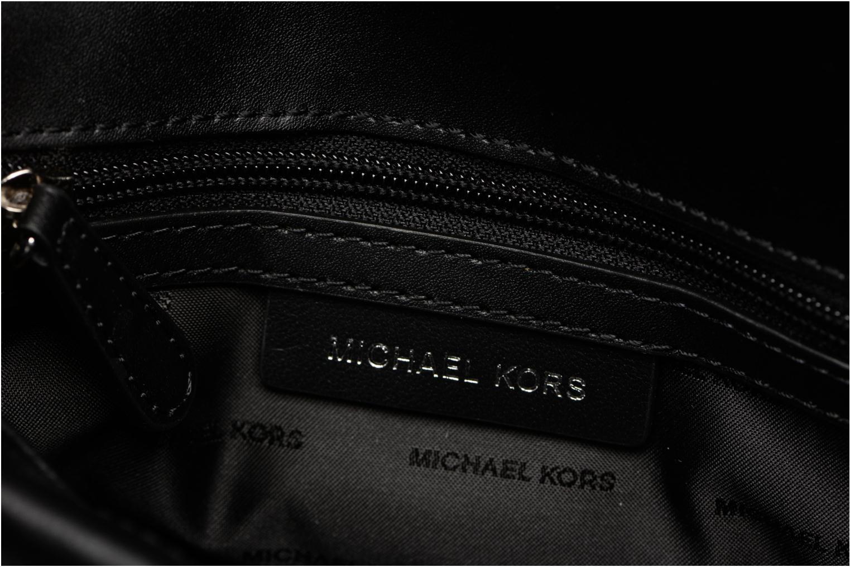 Bolsos de mano Michael Michael Kors SLOAN MD DOUBLE FLAP Negro vistra trasera