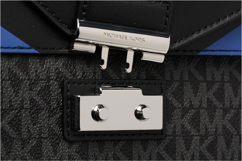 Bolsos de mano Michael Michael Kors SLOAN MD DOUBLE FLAP Negro vista lateral izquierda