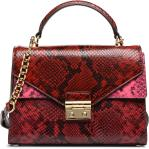 600 RED GLOSSY LUXE PYTHON