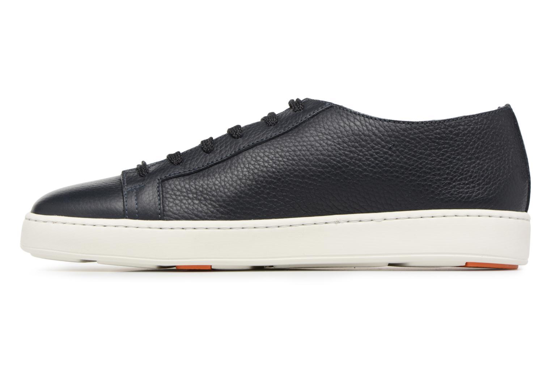 Sneakers Santoni Clean Icon Blauw voorkant