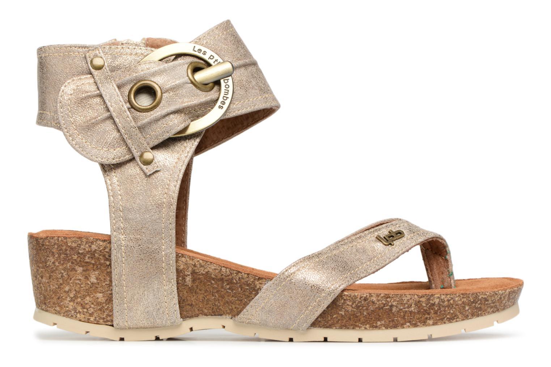 Sandales et nu-pieds Les P'tites Bombes Kelly Or et bronze vue derrière
