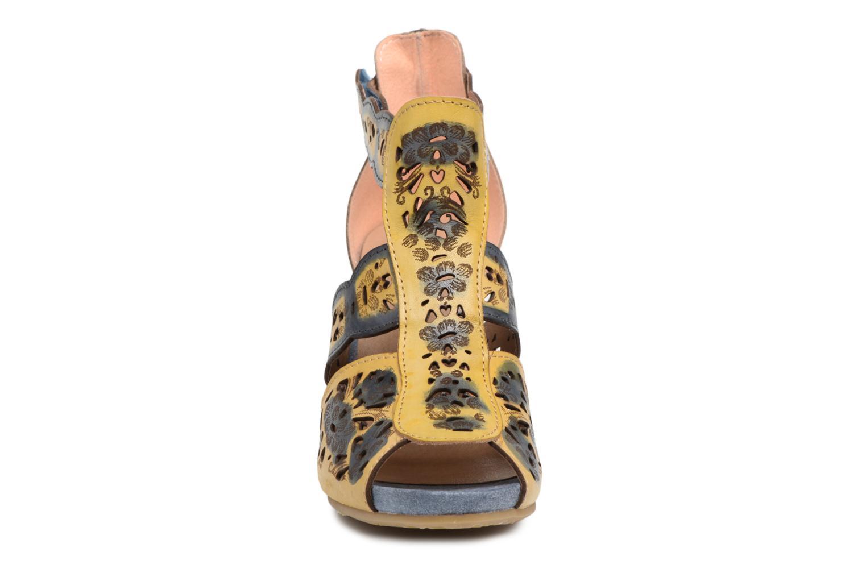 Sandales et nu-pieds Laura Vita Albane 128 Bleu vue portées chaussures