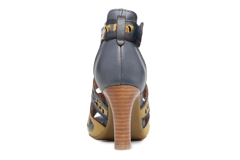 Sandales et nu-pieds Laura Vita Albane 128 Bleu vue droite