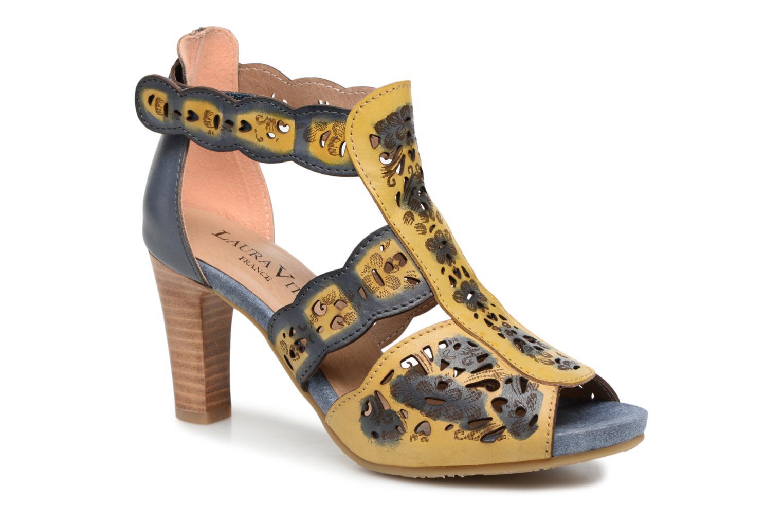 Sandales et nu-pieds Laura Vita Albane 128 Bleu vue détail/paire
