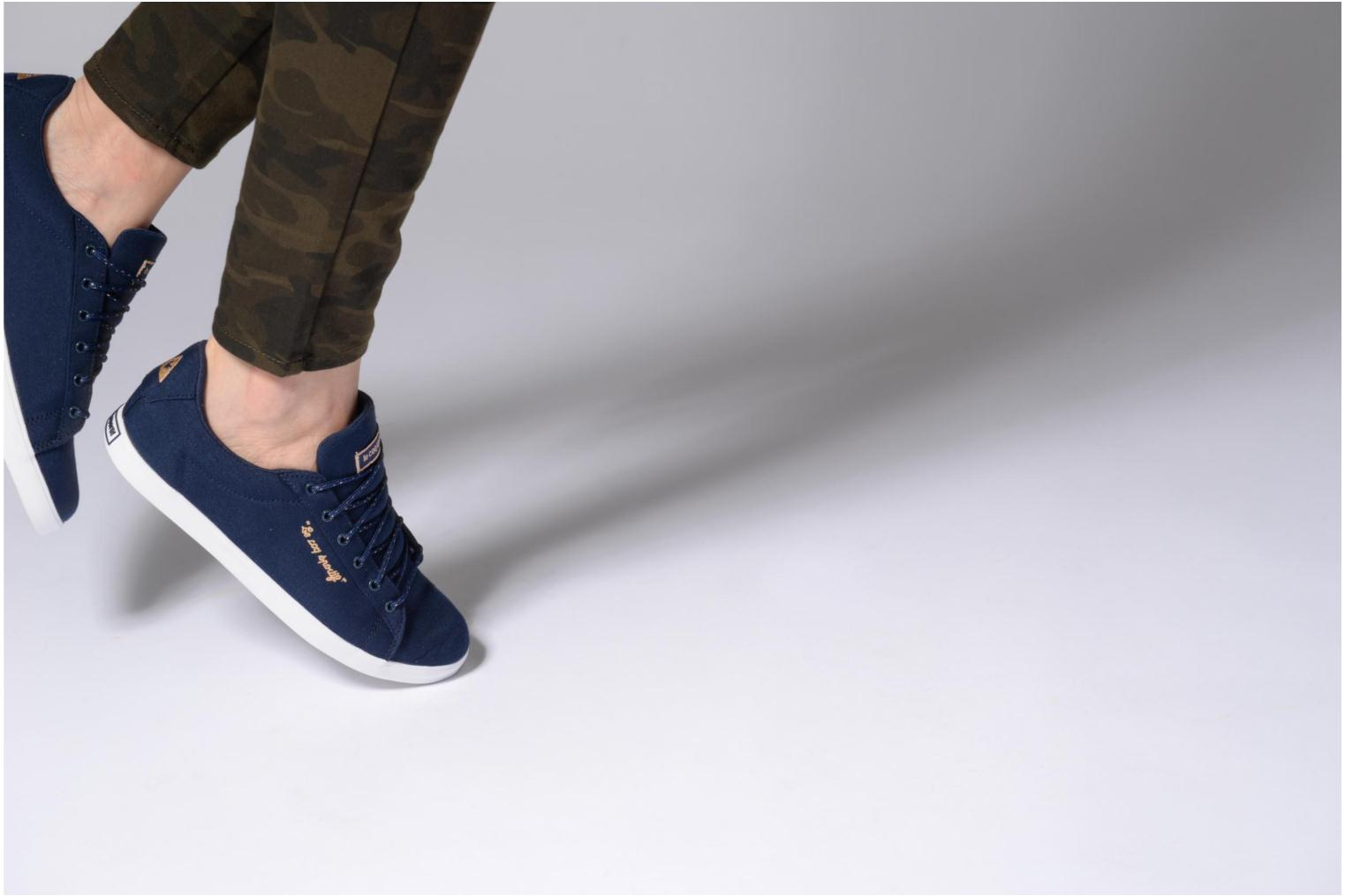 Dress Blue/Rose Gold Le Coq Sportif Aagate Lo Cvs/Metallic (Bleu)