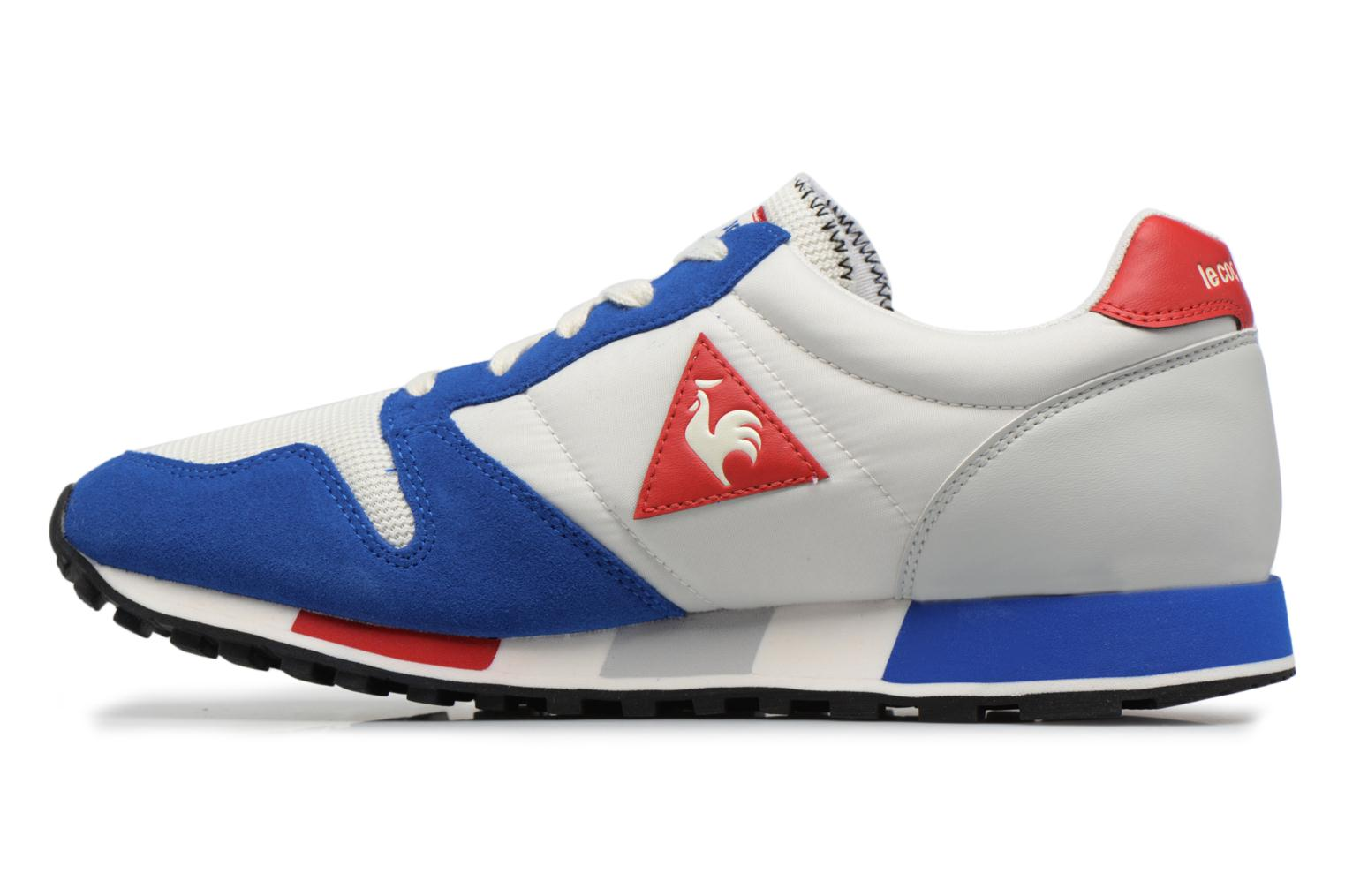 Sneakers Le Coq Sportif Omega Nylon Blauw voorkant