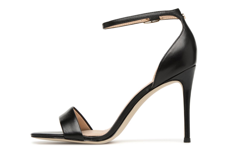 Sandales et nu-pieds Guess Karli Noir vue face