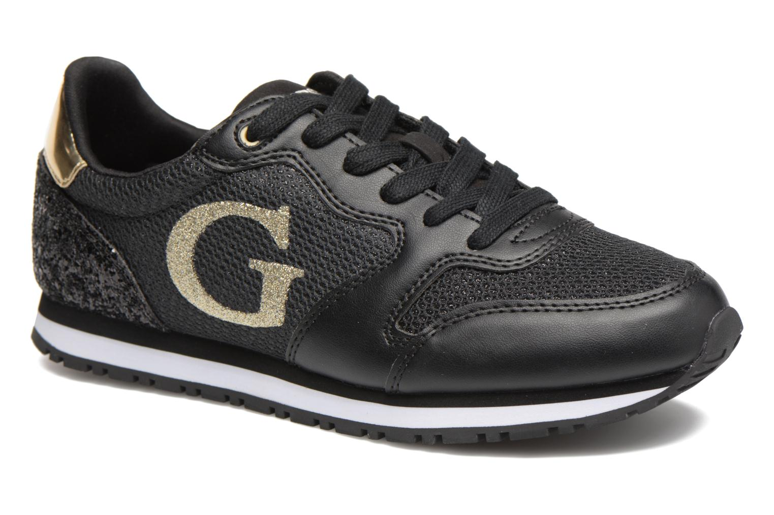 Trainers Guess Johnny2 Black detailed view/ Pair view