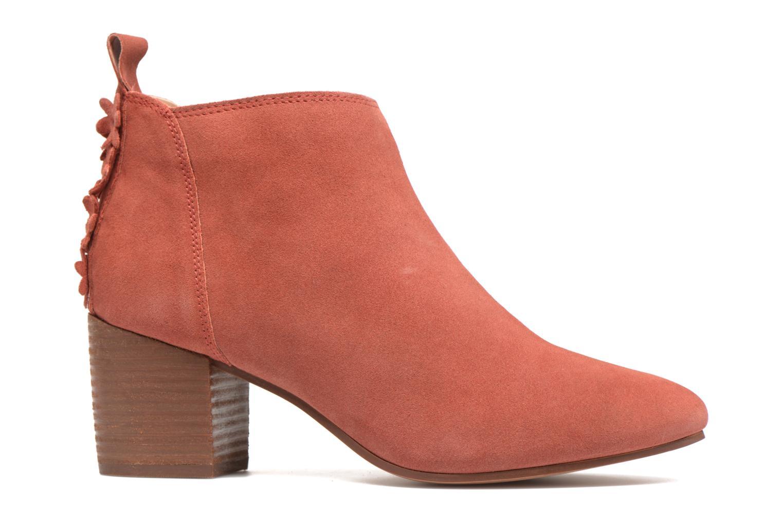 Bottines et boots Esprit Candy Bootie Rouge vue derrière